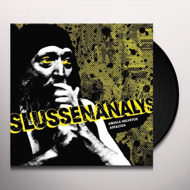 Slussenanalys AQUILA HELVETOS ASFALTOS Vinyl Record