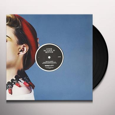Annie MY LOVE IS BETTER Vinyl Record