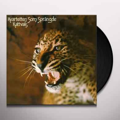 Kvartetten Som Sprangde KATTVALS Vinyl Record