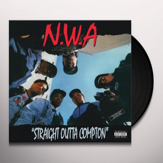 N.W.A. STRAIGHT OUTTA COMPTON Vinyl Record
