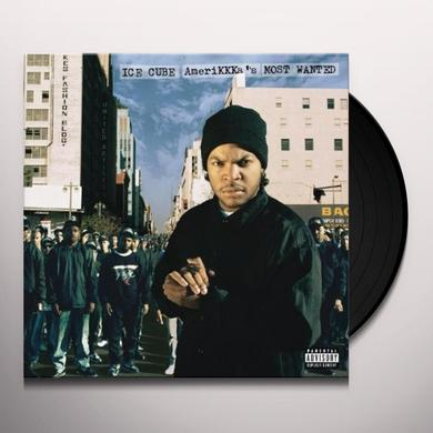 Ice Cube AMERIKKKA'S MOST WANTED Vinyl Record