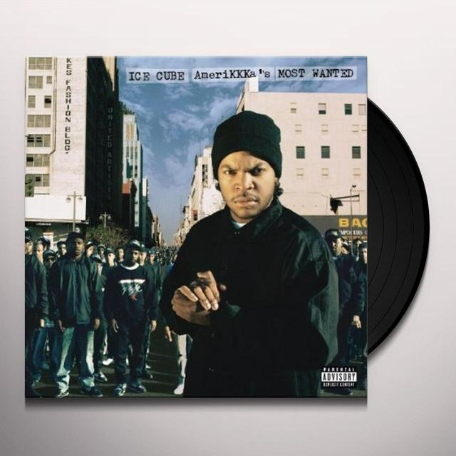 Ice Cube AMERIKKKA'S MOST WANTED Vinyl Record - Remastered