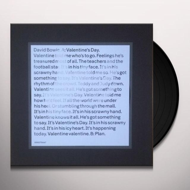 David Bowie VALENTINE'S DAY (Vinyl)