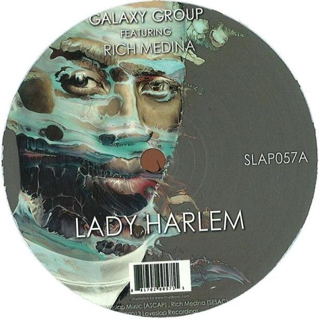 Galaxy Group LADY HARLEM / OTHER SIDE Vinyl Record
