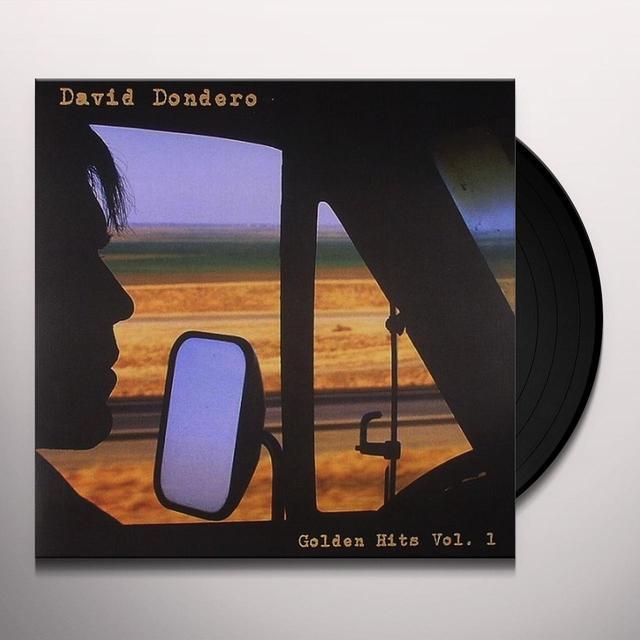 David Dondero GOLDEN HITS 1 Vinyl Record