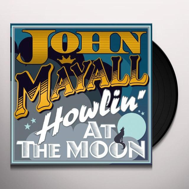 John Mayall HOWLING AT THE MOON Vinyl Record