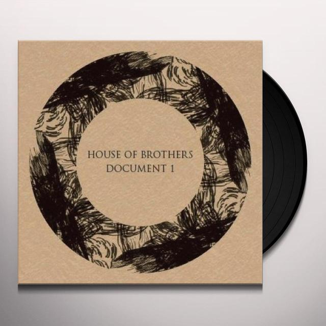 HOUSE OF BROTHERS DOCUMENT 1 Vinyl Record - UK Import