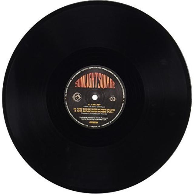 Sunlightsquare AFRO BOOGIE SUPER HOMBRE Vinyl Record