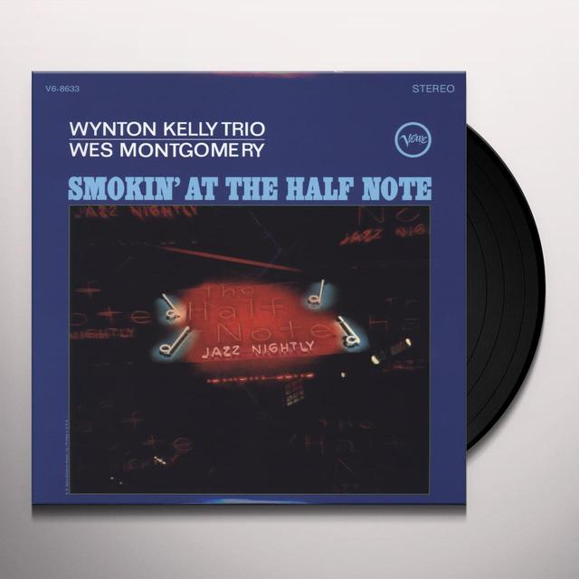 Wynton Kelly SMOKIN AT THE HALF NOTE Vinyl Record