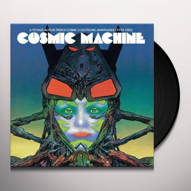 Cosmic Machine VOYAGE THROUGH FRENCH COSMIC & ELECTRONIC Vinyl Record