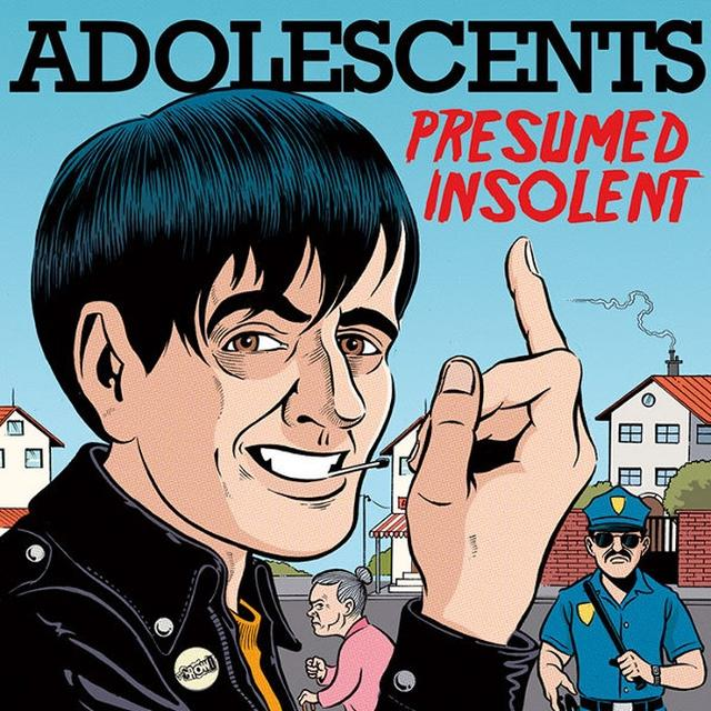 Adolescents PRESUMED INSOLENT Vinyl Record - Limited Edition