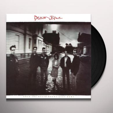 Deacon Blue WHEN THE WORLD KNOWS YOUR NAME Vinyl Record