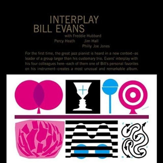Bill Evans INTERPLAY Vinyl Record