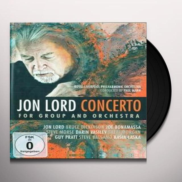 Jon Lord CONCERTO FOR GROUP (Vinyl)