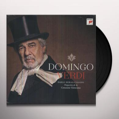 Placido Domingo VERDI Vinyl Record - Holland Release