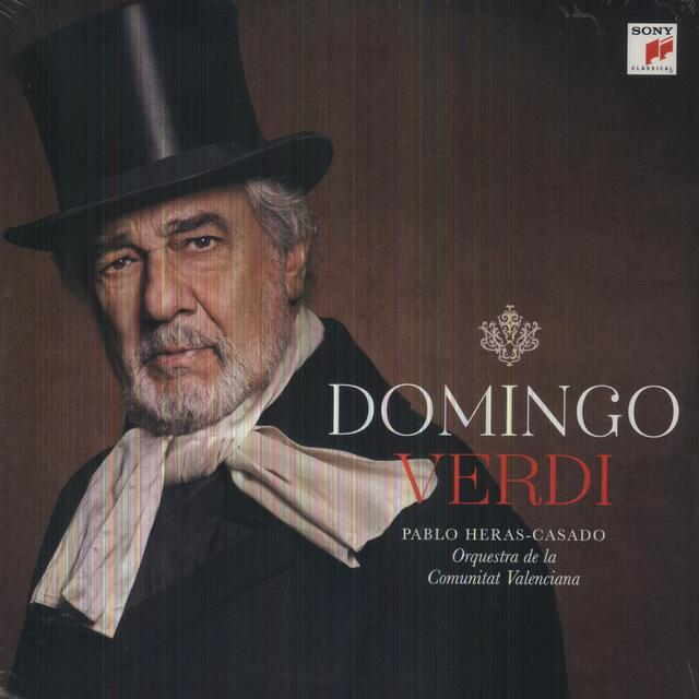 Placido Domingo VERDI Vinyl Record - Holland Import