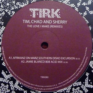 Tim Chad & Sherry LOVE I MAKE Vinyl Record