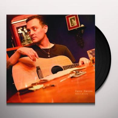 Dave Hause RESOLUTIONS Vinyl Record - UK Import