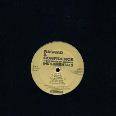 Rashad & Confidence ELEMENT OF SURPRISE (INSTRUMENTALS) Vinyl Record