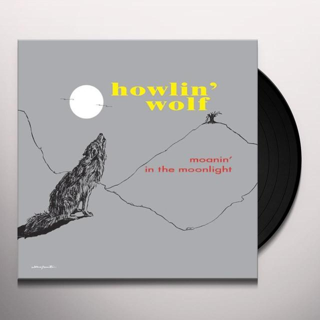 Howlin Wolf MOANIN IN THE MOONLIGHT Vinyl Record - Limited Edition