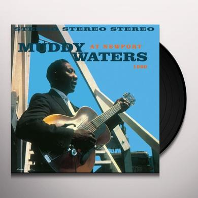 Muddy Waters AT NEWPORT 1960 Vinyl Record - Limited Edition