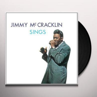 Jimmy Mccracklin SINGS Vinyl Record - Limited Edition