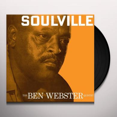 Ben Quintet Webster SOULVILLE Vinyl Record - UK Import