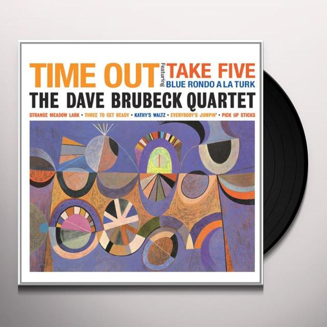 The Dave Brubeck Quartet TIME OUT Vinyl Record - Limited Edition