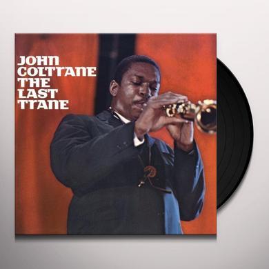 John Coltrane LAST TRANE Vinyl Record