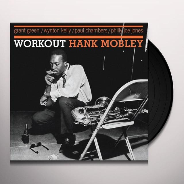 Hank Mobley WORKOUT Vinyl Record - Limited Edition