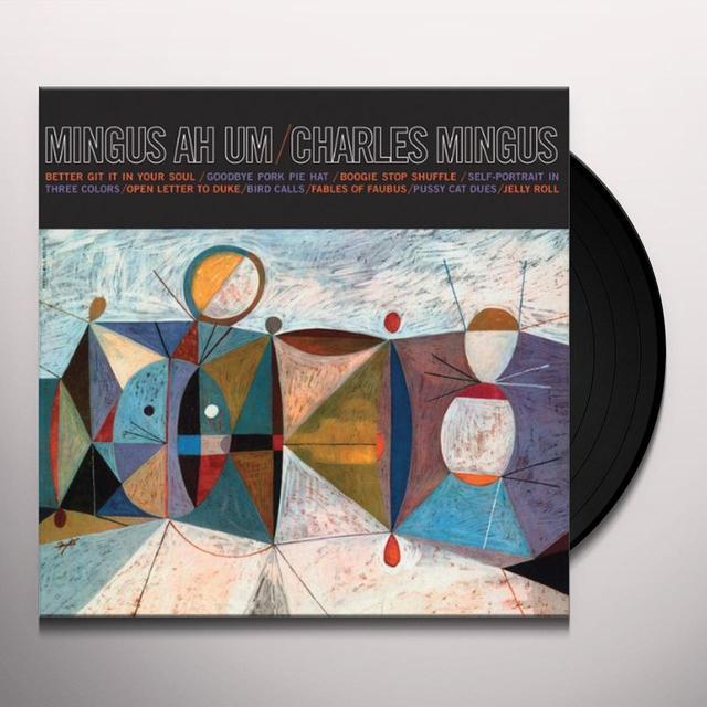 Charles Mingus MINGUS AH UM Vinyl Record - Limited Edition