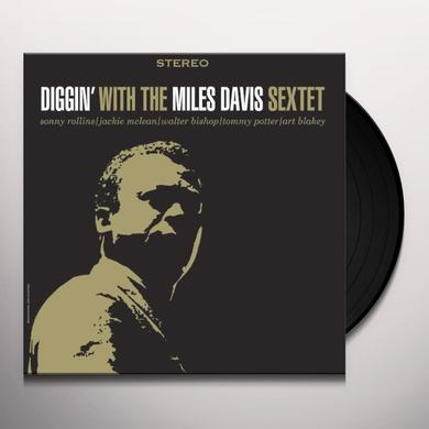 Miles Sextet Davis DIGGIN WITH Vinyl Record - Limited Edition