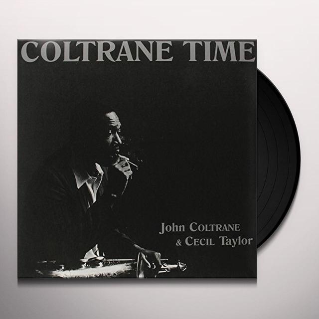 John Coltrane COLTRANE TIME Vinyl Record - Limited Edition