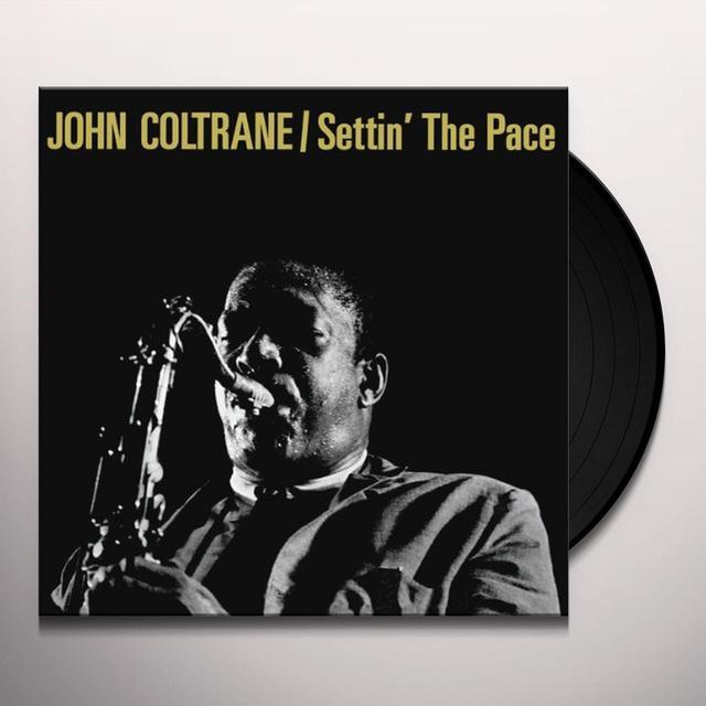 John Coltrane SETTIN THE PACE Vinyl Record - Limited Edition