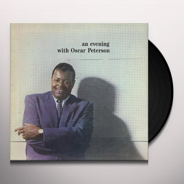 AN EVENING WITH OSCAR PETERSON Vinyl Record - Limited Edition