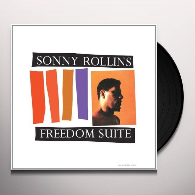 Sonny Rollins FREEDOM SUITE Vinyl Record - Limited Edition
