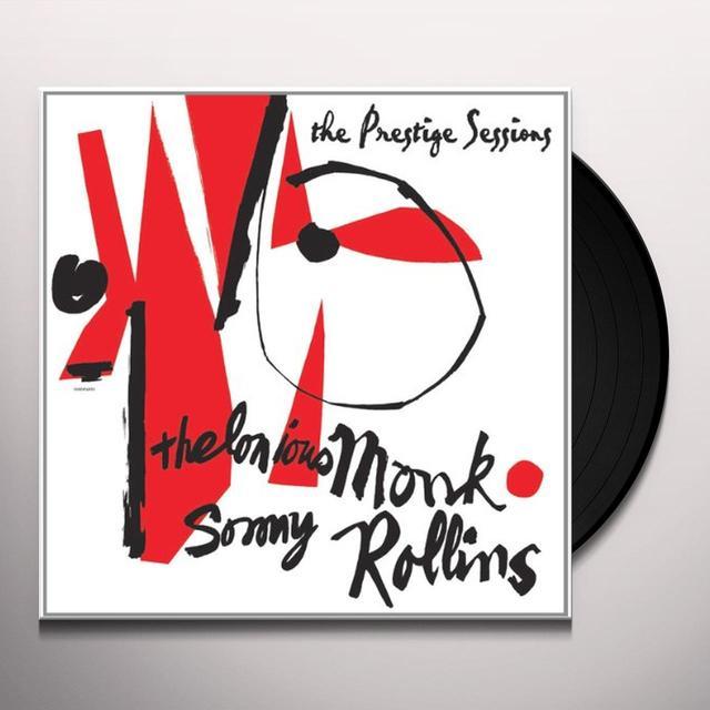 Thelonious Monk & Sonny Rollins PRESTIGE SESSIONS Vinyl Record