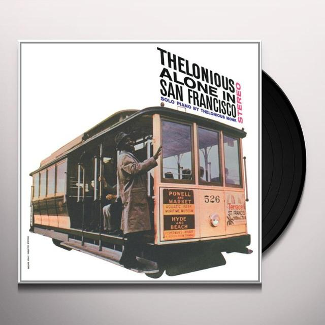 Thelonious Monk ALONE IN SAN FRANCISCO Vinyl Record - Limited Edition