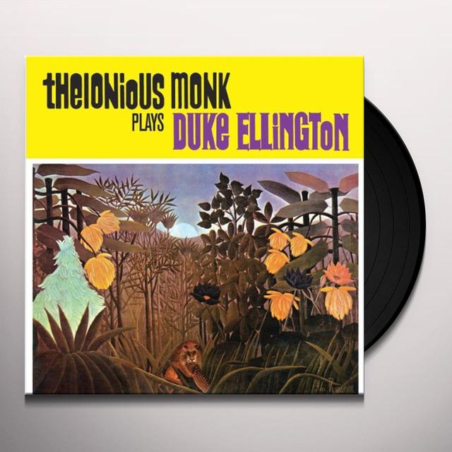 Thelonious Monk PLAYS DUKE ELLINGTON Vinyl Record - Limited Edition