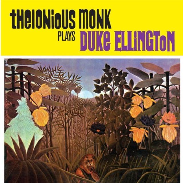 Thelonious Monk PLAYS DUKE ELLINGTON Vinyl Record - Limited Edition
