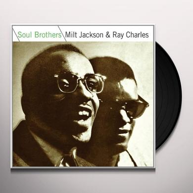Milt Jackson & Ray Charles SOUL BROTHERS Vinyl Record - Limited Edition