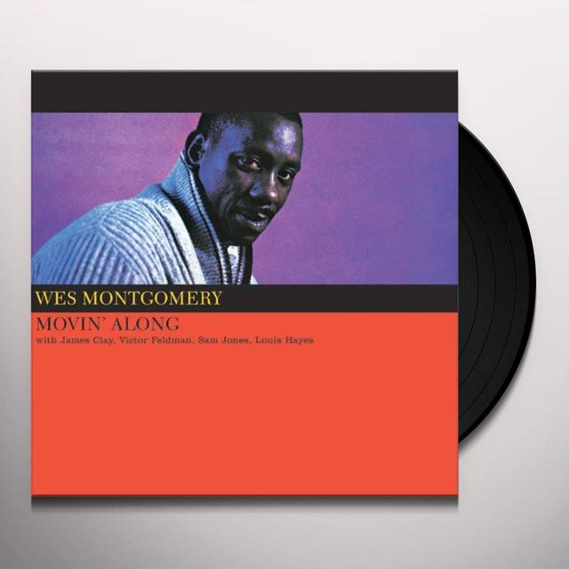 Wes Montgomery MOVIN ALONG Vinyl Record - Limited Edition