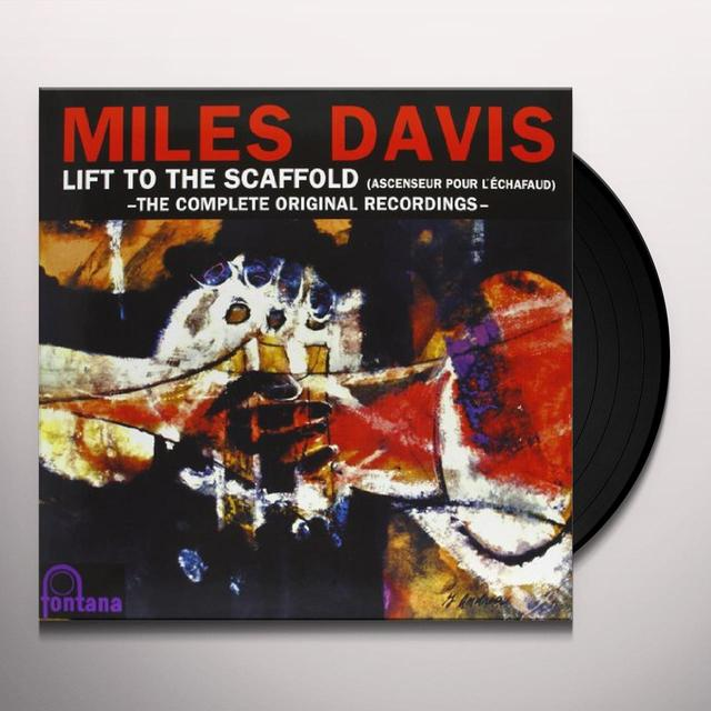 Miles Davis LIFT TO THE SCAFFOLD: COMPLETE ORIGINAL RECORDINGS Vinyl Record
