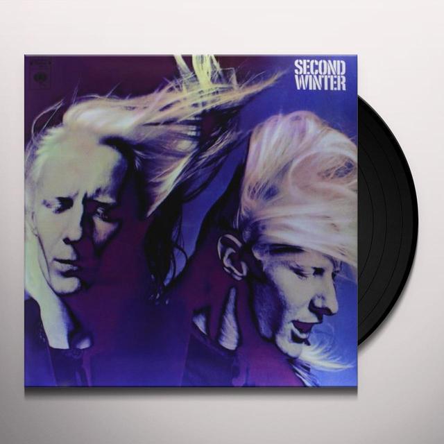 Johnny Winter SECOND WINTER Vinyl Record - 180 Gram Pressing