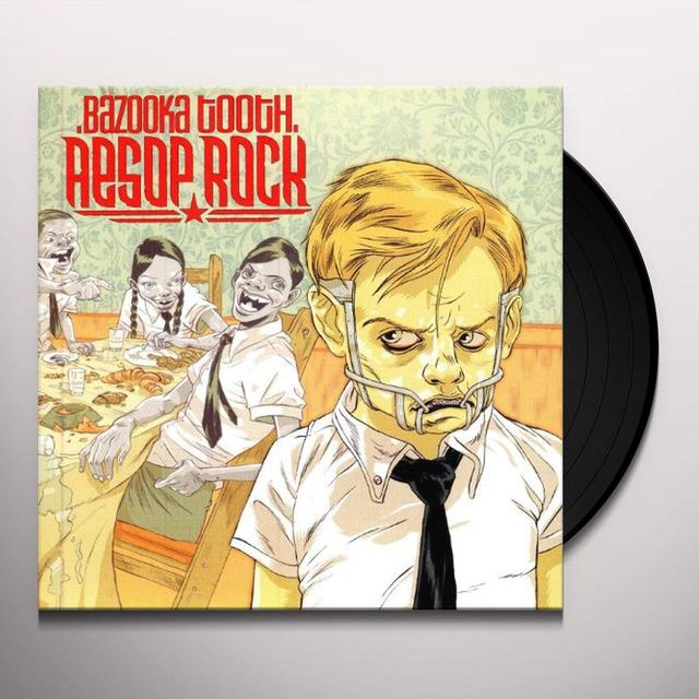 Aesop Rock BAZOOKA TOOTH Vinyl Record - Reissue