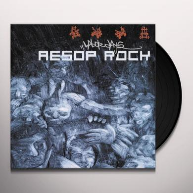Aesop Rock LABOR DAYS Vinyl Record - Reissue