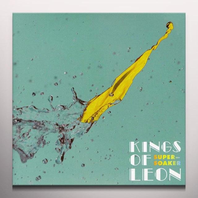 Kings Of Leon SUPERSOAKER / WORK ON ME Vinyl Record - Colored Vinyl