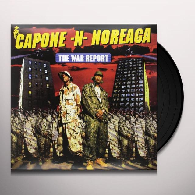 Capone N Noreaga WAR REPORT Vinyl Record