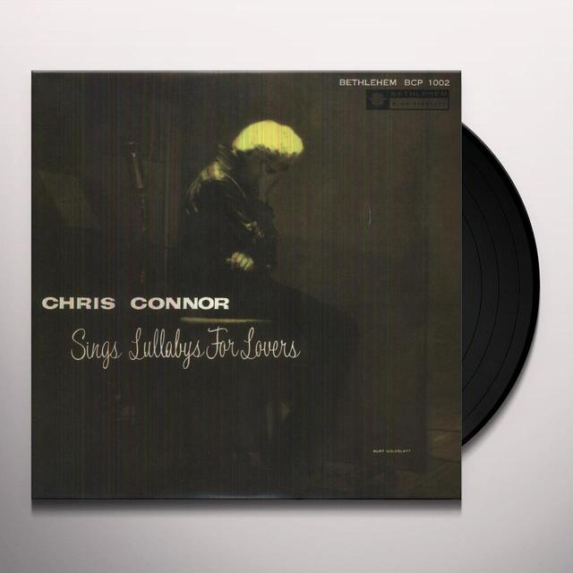 Chris Connor LULLABYS FOR LOVERS Vinyl Record - 10 Inch Single