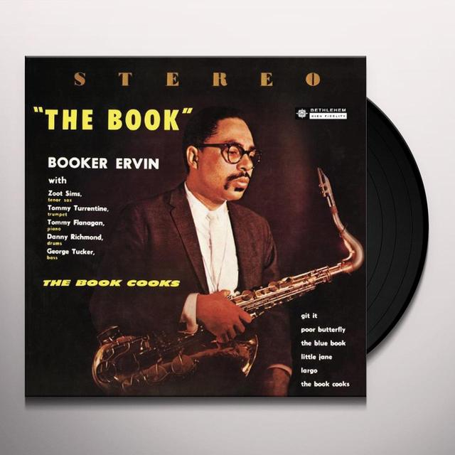 Booker Ervin BOOK COOKS Vinyl Record